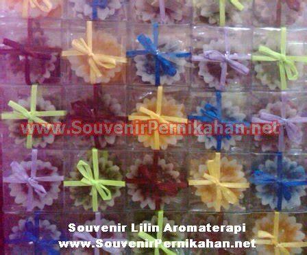 Souvenir Sabun Bentuk Mawar 1 lilin aroma terapi mawar souvenir pernikahan