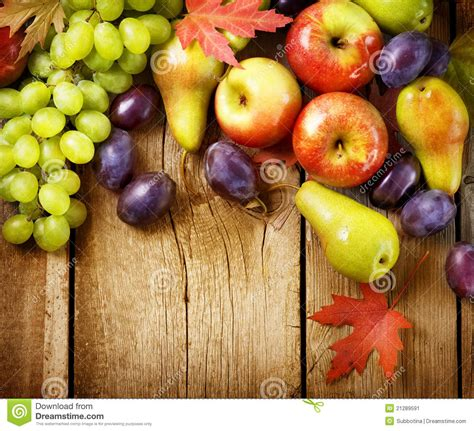 pictures 0f vegetables fruits wood background stock image image 21289591