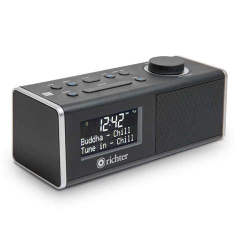 digital alarm clock radio rr40blk richter audio