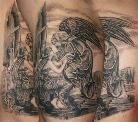 angel of death tattoos of by nataliaborgia s