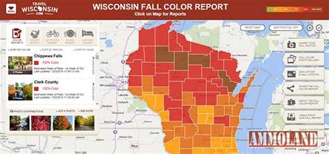 fall color report fall colors at peak across northern wisconsin and near