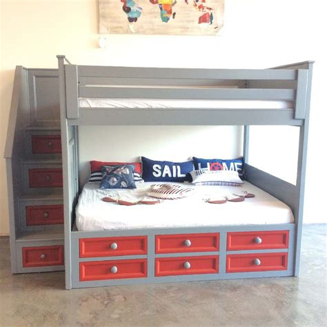 crammed twin  queen bunk bed winchester xl kids furniture  los angeles timbacsy ofelia