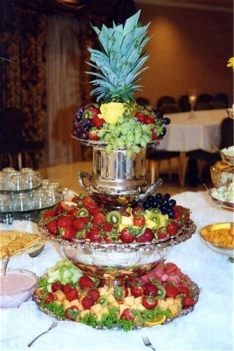 wedding reception fruit table wedding desserts