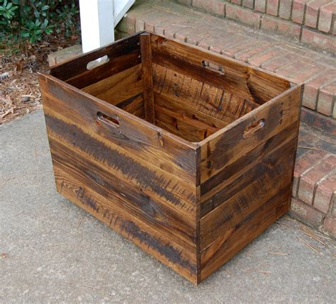 large wooden crates large wooden crate chest large storage box