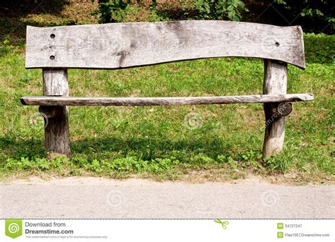 old park bench weathered wooden park bench royalty free stock photography