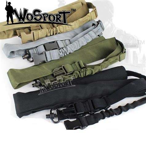 tactical cs 1 single point sling adjustable bungee rifle