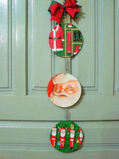 decorazione natalizia per porta addobbi di natale con i cd riciclati foto 4 10 ecoo