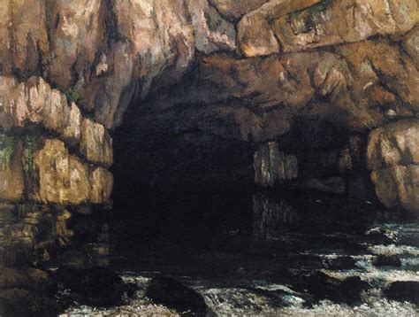 Courbet Sleepers by The Source Of The Loue 1864