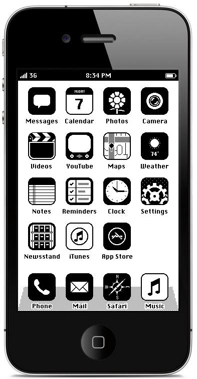 coloca la interfaz mac os 1986 a tu iphone 5 nerdilandia