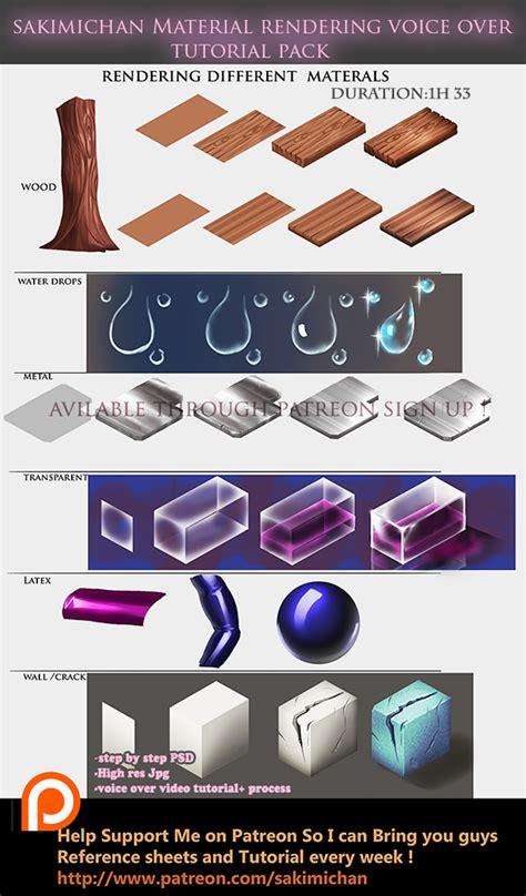 Different Materials by Different Materials 1 By Sakimichan On Deviantart