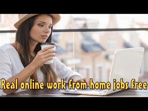 Free Work From Home Jobs Online - real online work from home jobs free start today real online work from home jobs