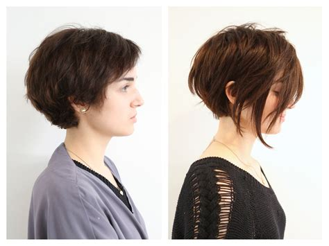 short hairstyles with hair extensions pictures before and after edgy asymmetrical extensions hair color rehab