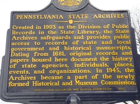 Pa State Records Pin By Pa Trails Of History On Historical Markers