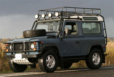 land rover jeep cars land rover defender 90 archives the truth about cars