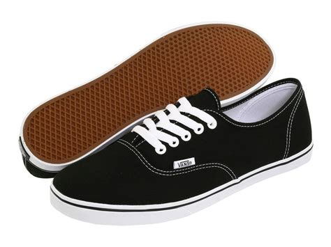 Where Can I Buy A Vans Gift Card - women vans authentic lo pro canvas black white 100 original brand new