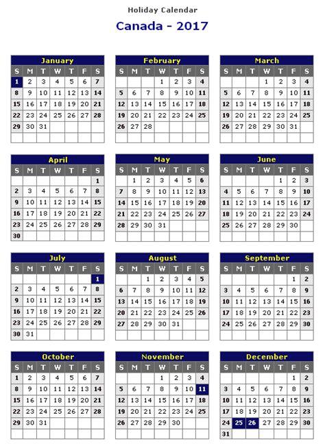 printable calendar 2017 canada holidays 2017 calendar canada weekly calendar template