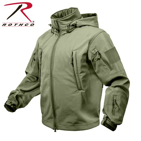 Jaket Parka Tactical Waterproof Polos rothco special ops tactical soft shell jacket