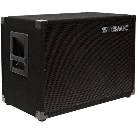 bass speaker cabinet seismic audio new 1x15 bass guitar speaker cab 300w 115
