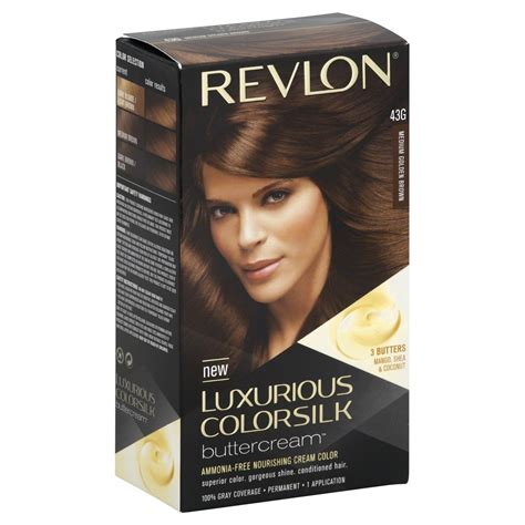 revlon luxurious colorsilk buttercream haircolor 32rb revlon luxurious colorsilk buttercream permanent color