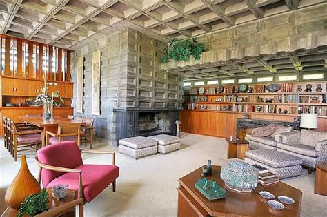 Cincinnati Interiors by A Frank Lloyd Wright House For Sale Hooked On Houses