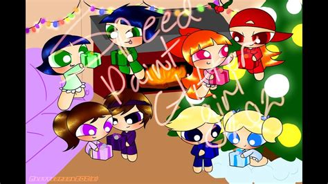 ppg  rrb christmas speedpaint youtube