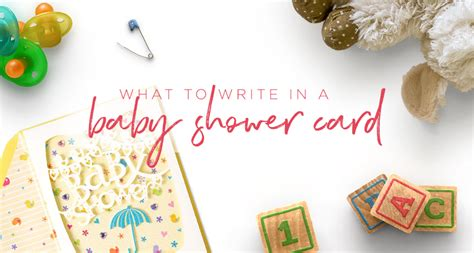 How To Write A Baby Shower Card by What To Write In A Baby Shower Card