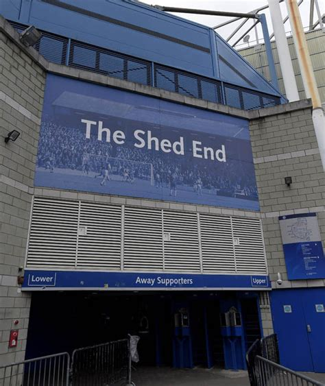 The Shed West End by Chelsea V West Ham United The At Stamford