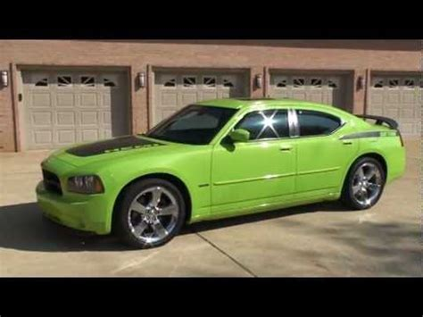 lime green charger 2007 dodge charger rt daytona sub lime green hemi for sale