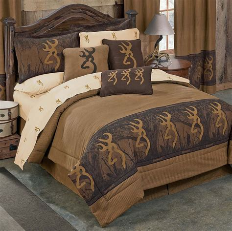 rustic bed sets browning oak tree buckmark comforter sets kimlor mills