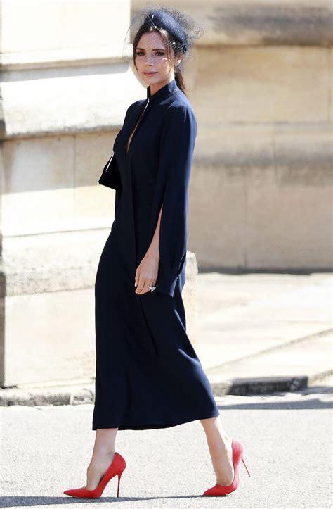 Beckham Dress beckham opens up about the royal wedding