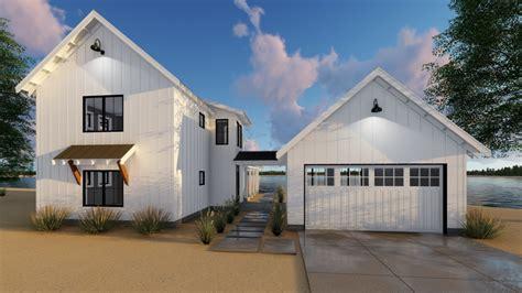 29414 canton modern farmhouse cabin house plan by 1 5 story modern farmhouse house plan canton
