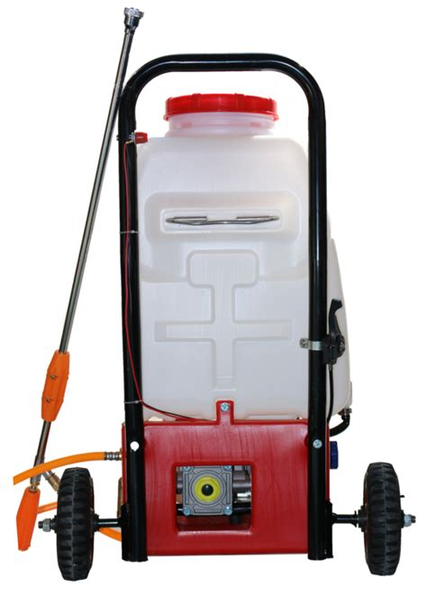 Safety Box 25l 25l sprayer petrol engine with wheels garden chemical
