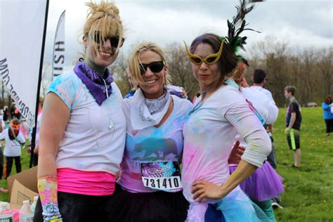 color vibe portland color vibe 5k payson park in portland mainetoday