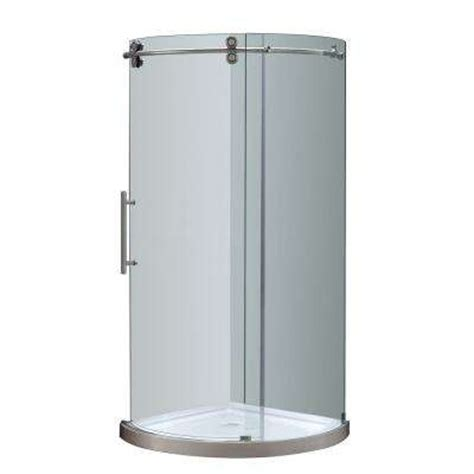 Stainless Steel Shower Stall by Stainless Steel Shower Stalls Kits Showers Bath The Home Depot