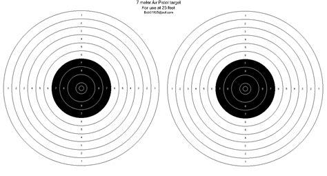 printable targets air rifle free printable targets from bob latino gun shots