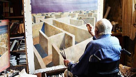 Jeffrey Smart Master Of Stillness jeffrey smart a master of the maze and stillness of life