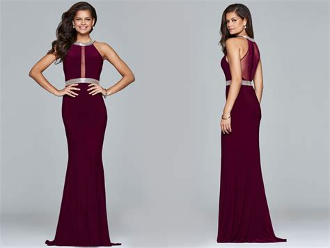 wine colored prom dresses the trend bordeaux and wine prom dresses glam