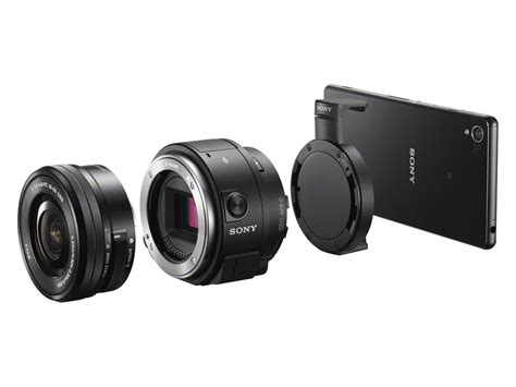 Sony Qx sony unveils iphone compatible qx1 lens mount and qx30
