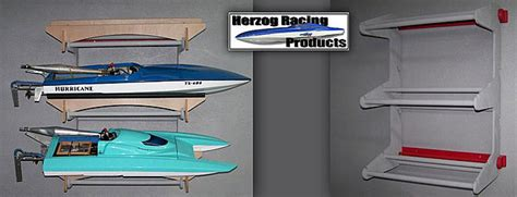 pvc rc boat trailer herzog racing products three boat wall mount rc groups