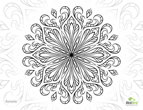 Free Printable Coloring Pages For Adults Advanced Romantic Free Printable Flower Coloring Pages For Adults