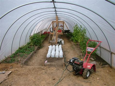 How To Build A Backyard Greenhouse How To Build A Retractable Hoop House Greenhouse Your