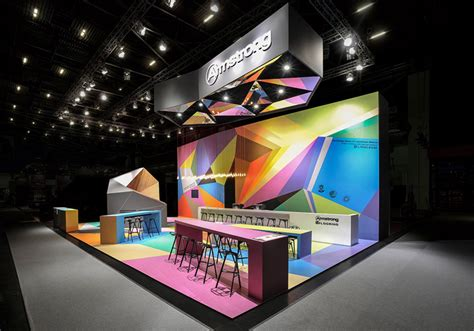 exhibition booth design germany armstrong trade fair stand by ippolito fleitz group
