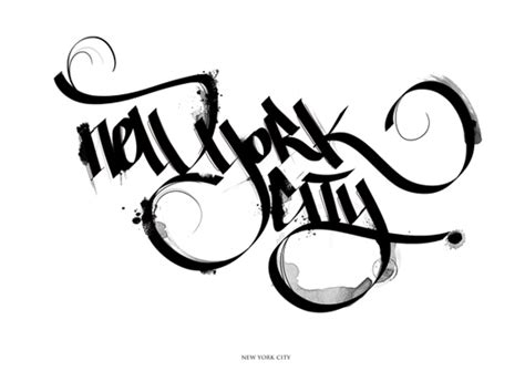 tattoo alphabet city nyc typography inspiration calligraphic masterpieces