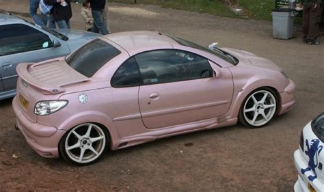 peugeot pink peugeot 206 pink modified
