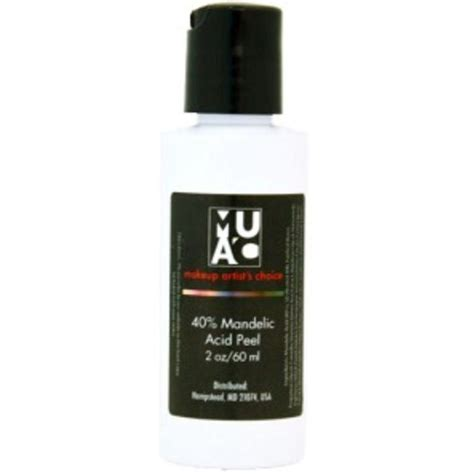 mandelic acid toner from makeup artists choice makeup artist s choice muac 40 mandelic acid peel
