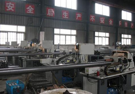 seamless steel pipe production facilities datang steel pipe