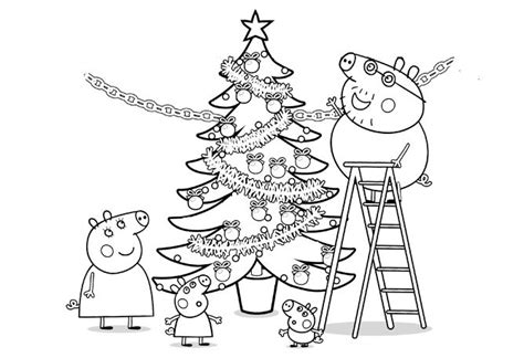 Christmas Colouring Pages Peppa Pig | peppa pig pigs and peppa pig colouring on pinterest
