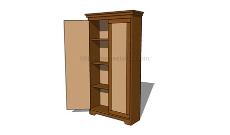 how to make an armoire how to build an armoire wardrobe howtospecialist how to build step by step diy plans