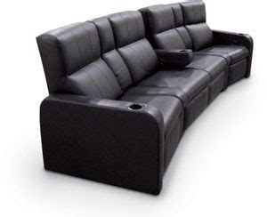 theater style couch benedetina media room sofa