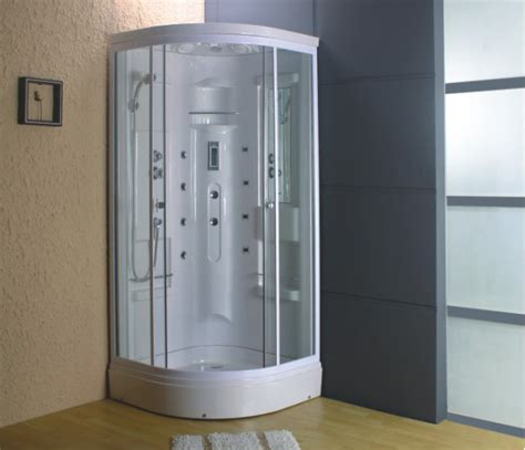 Corner Steam Shower by 900mm Corner Steam Shower Cubicle Enclosure Cabin Tray Ebay